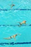 水球比赛 免版税库存照片