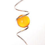 球水晶螺旋 免版税库存照片