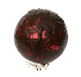 球泥泞的足球沼泽 免版税库存照片
