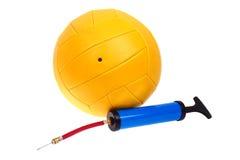 球泵排球 免版税图库摄影