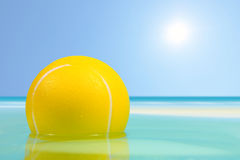 球浮动的海运 图库摄影