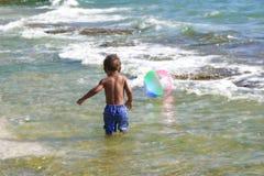 球海滩 免版税图库摄影