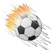 球火焰 库存例证
