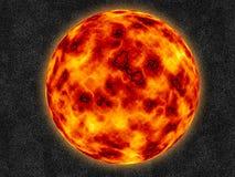球火 向量例证