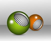 球状设计的要素 免版税库存照片