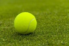 球现场草地网球运动 免版税库存图片
