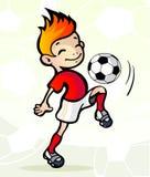 球球员足球 库存照片