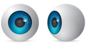 球眼睛 向量例证