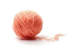 球穿线羊毛 免版税库存图片