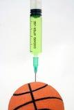 球篮子掺杂 免版税库存图片