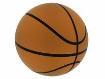 球篮子褐色 库存图片