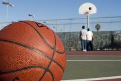 球篮子 免版税库存照片