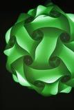 球绿色丝带 免版税库存照片