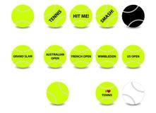 球网球 图库摄影