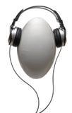 球耳机橄榄球 免版税库存图片
