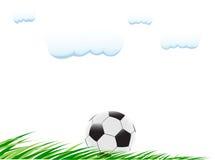 球草足球 免版税库存图片
