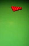 球落袋撞球 免版税库存照片