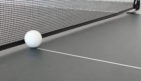 球蓝色桨乒乓切换技术天空乒乓球 图库摄影
