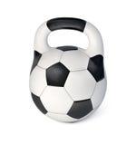 球表单困难足球重量 免版税库存照片