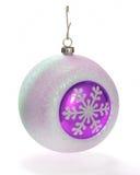 球装饰紫红色粉红色xmas 免版税库存照片