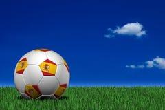 球足球西班牙语 库存照片