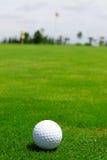 球陶瓷高尔夫球 免版税库存图片