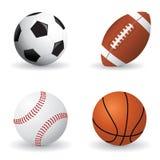 球集合体育运动 免版税库存图片