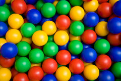 球颜色 免版税库存图片