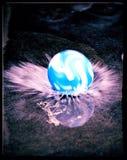 球飞溅 免版税库存照片