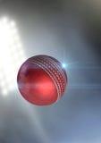 球飞行通过空气 库存图片