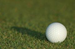 球高尔夫球白色 免版税库存图片