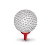 球高尔夫球 向量例证