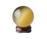 球水晶魔术 库存照片
