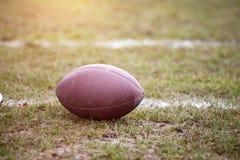 球-橄榄球 库存图片