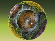 球chrystal玻璃构造了 向量例证