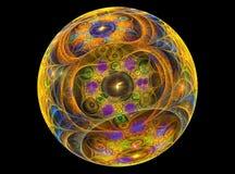 球chrystal玻璃textureb 向量例证