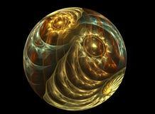 球chrystal玻璃textureb 皇族释放例证