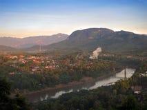 琅勃拉邦老挝 库存图片