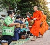 琅勃拉邦,老挝- 10月27 免版税库存照片