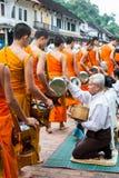 琅勃拉邦,老挝- 10月27 库存照片