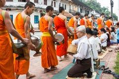 琅勃拉邦,老挝- 10月27 免版税库存图片