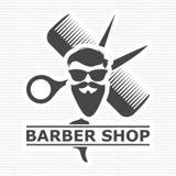 理发店商标,理发店象,简单的象 库存图片