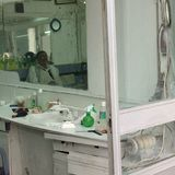 理发店在的黎波里 免版税库存图片