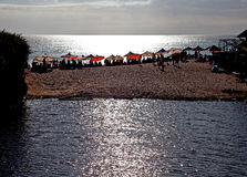 理想国海滩-巴厘岛 库存图片