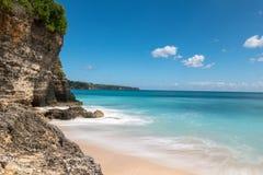 理想国海滩在巴厘岛 免版税库存图片