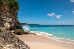 理想国海滩在巴厘岛 免版税库存照片