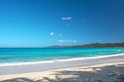 理想的加勒比海滩 免版税库存图片