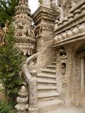 理想的宫殿在奥特里韦, Drome,法国 免版税库存照片