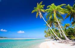 理想的热带海滩 图库摄影