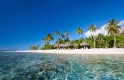 理想的热带海滩 库存图片